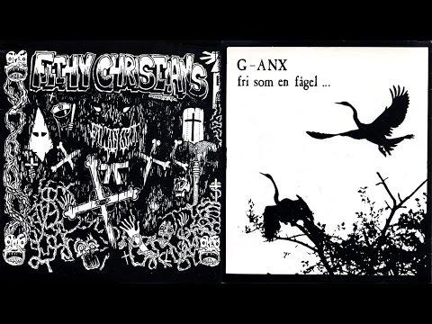 "Filthy Christians / G-Anx - split 7"" FULL ALBUM (1988 - Grindcore / Hardcore Punk)"