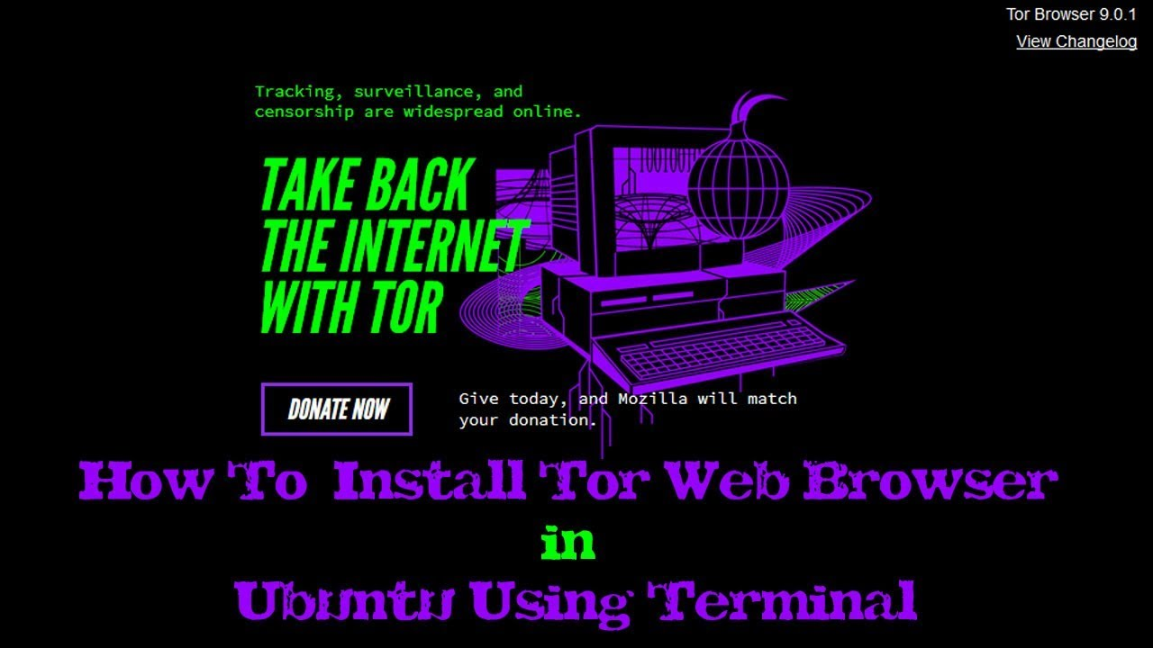 ubuntu тор браузера гирда