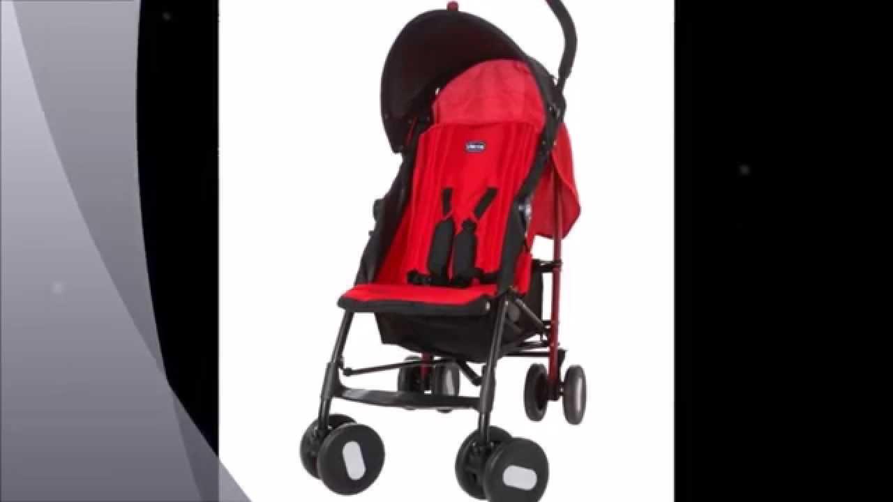 Chicco echo silla de paseo color rojo youtube - Silla de paseo chicco echo ...