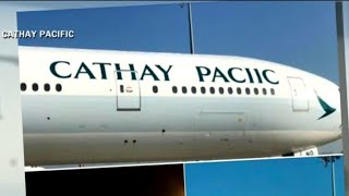 Cathay Pacific Airways misspells company name on plane