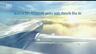 Blue Air - 20% reducere