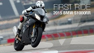 2015 BMW S1000RR First Ride - MotoUSA