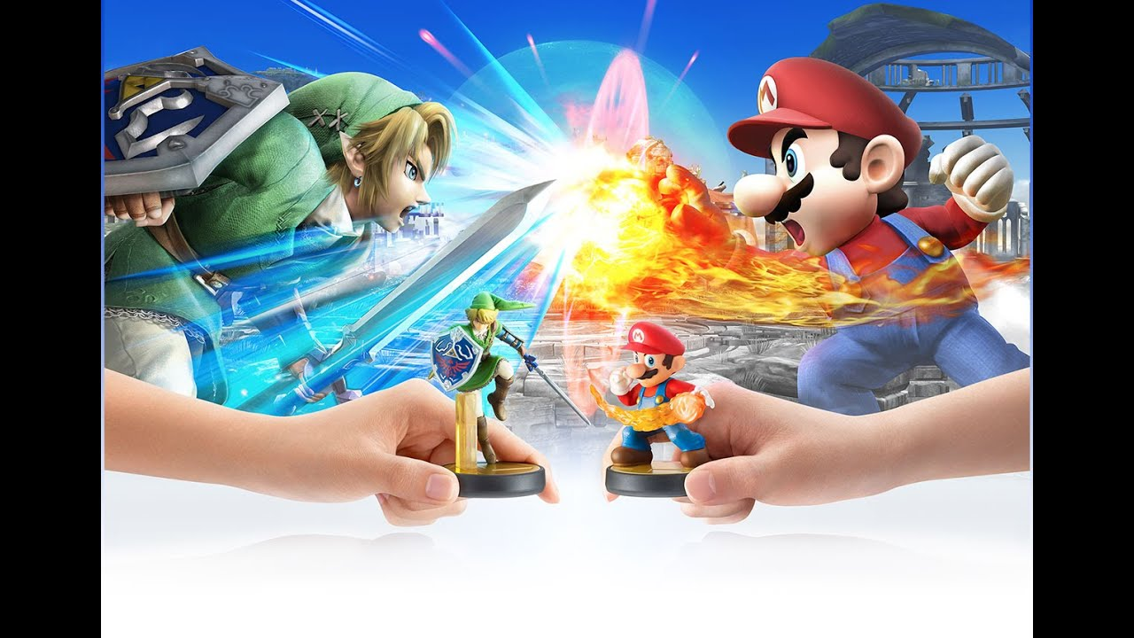 Link Vs Mario Brawl Super Smash Bros. for ...