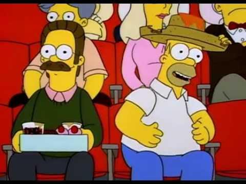 Homer Simpson - Nacho, Nacho Man, I Want To Be A Nacho Man...