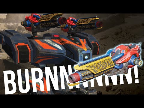 War Robots - Nemesis With NEW Special Edition Freedom Igniter Weapon | Nemesis Gameplay