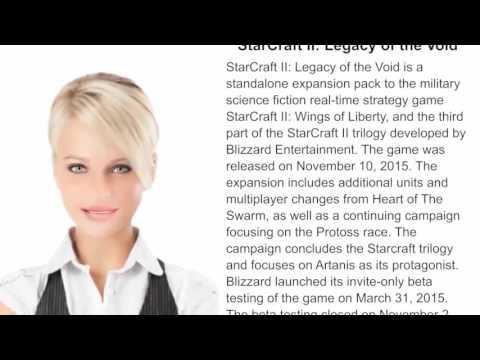 StarCarft II Legacy of the Void - WikiVideos