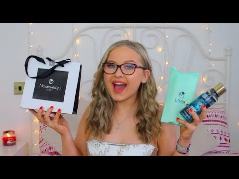 WHAT I GOT FOR CHRISTMAS & GIVEAWAY //  2017 | CAITLIN