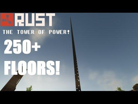 Rust : 250+ Floor tower!