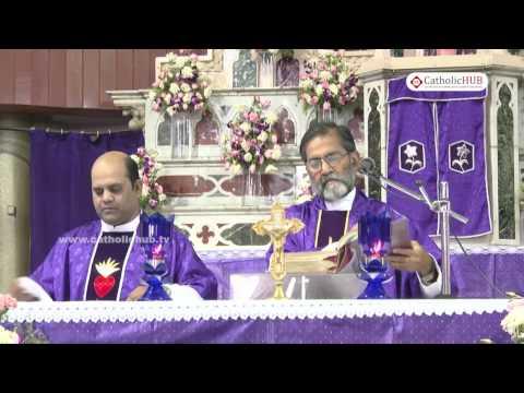 English Mass @ St  Mary's Basilica, Secunderabad, Telangana , INDIA. 4-3-17.HD