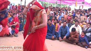 नई बहू कमरतोड़ डांस धनश्यामपुरा में पूनम शास्त्री #Poonam shastri