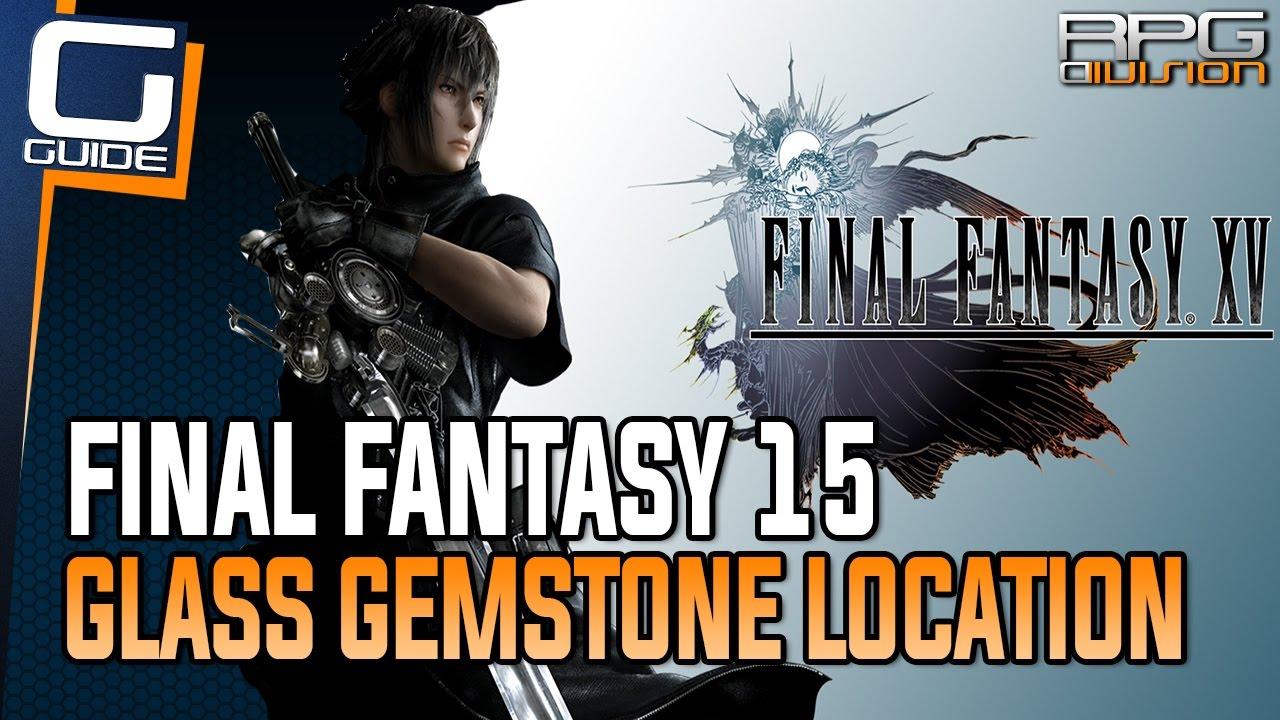 Final Fantasy Xv Glass Gemstone