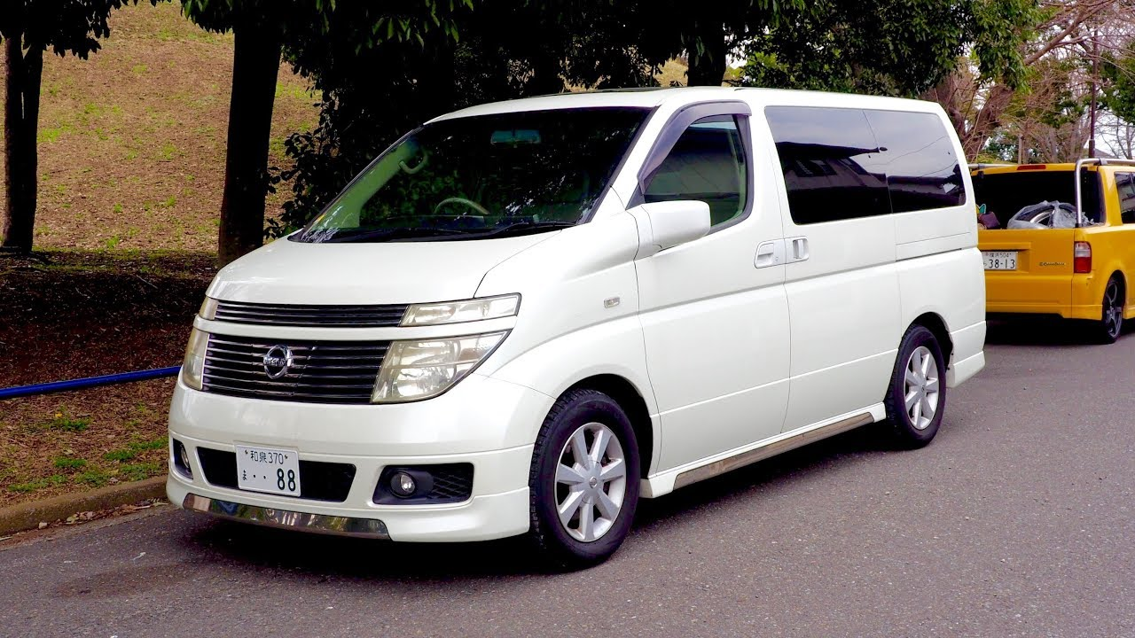 2003 Nissan Elgrand 4WD (Canada Import) Japan Auction