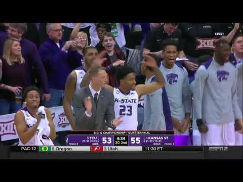 TCU vs Kansas State Men\'s Basketball Highlights