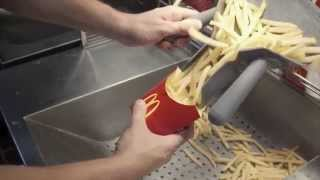 McDonald's Shows What Goes Into Their French Fries