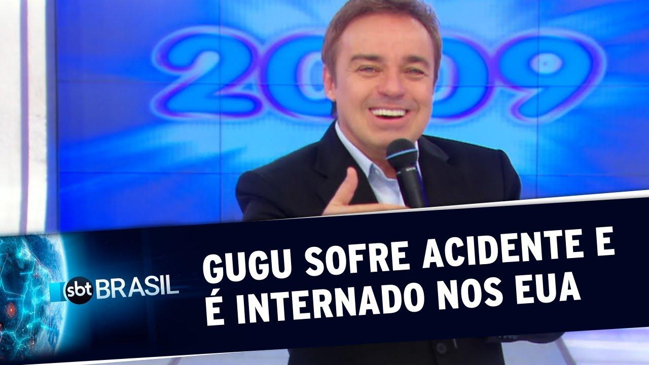 Gugu Liberato sofre acidente e é internado em estado grave nos EUA | SBT Brasil (21/11/19)