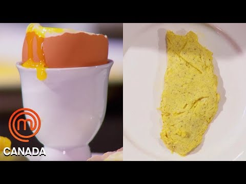 An Omelette, Poached Egg & Soft Boiled Egg In 8 Minutes! | MasterChef Canada | MasterChef World