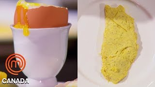 An Omelette, Poached Egg \u0026 Soft Boiled Egg In 8 Minutes! | MasterChef