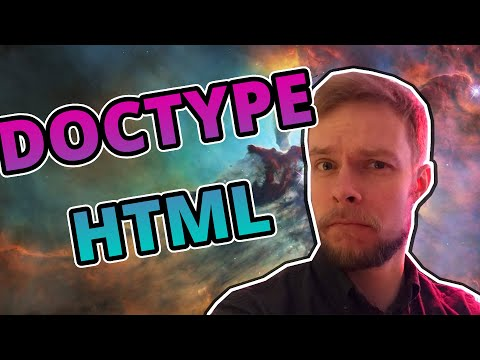 What Is Doctype In HTML Documents? And Why Do You Have To Specify It?