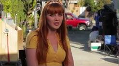 Marie McCray, Revenge of the Petites on set Interview
