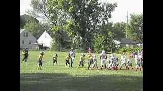Great Shoestring tackle by #1 Rashad DeBose(even fools crowd)2012 midwest bearcats