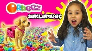 Orbeez Su Maymunlarında Barbie Köpeği ile Saklambaç | Asya 'nın Dünyası Eğlenceli Çocuk Videoları