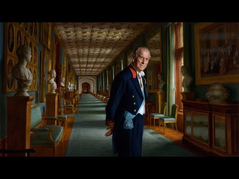 Stunning NEW Realistic Portrait Of Prince Philip Released & The Symbolic Personal Meaning