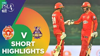 Short Highlights | Islamabad United vs Quetta Gladiators | Match 18 | HBL PSL 6 | MG2T