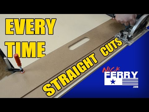 Make Straight Cuts Every Time With A Door Board (ep60)  sc 1 st  YouTube & ? Make Straight Cuts Every Time With A Door Board (ep60) - YouTube pezcame.com