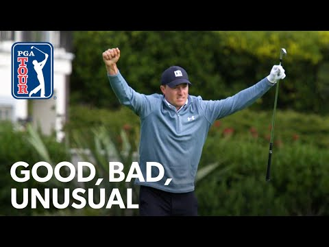 Spieth holes out twice, Berger's four eagles, Phil's driver off the deck