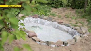 видео Как построить пруд на даче для рыбы или дизайна