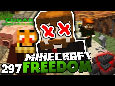 muss kedos sterben? ihr entscheidet  tod durch amboss? ✪ minecraft freedom 297 deutsch  paluten