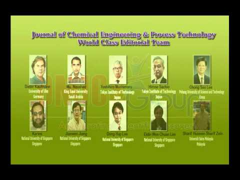 Chemical Engineering and Process Technology Journals | OMICS Publishing Group