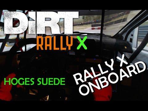 FIA RallyX | ONBOARD | Höljes - Sweden | VW Polo | Master