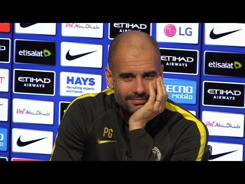 Pep Guardiola Full Pre-Match Press Conference - Liverpool v Manchester City - Incl. Embargoed Sec.