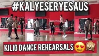 Alden Richards and Maine Mendoza Kilig Dance Rehearsals!