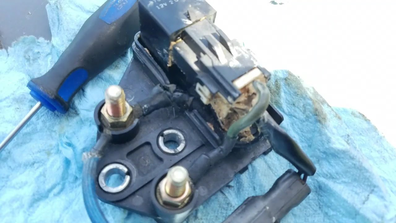 LB7 Duramax glow plug module relay easy fix on