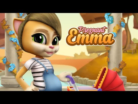 Pregnant Talking Cat Emma