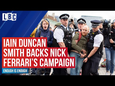 Nick Ferrari's Enough Is Enough: Iain Duncan Smith backs campaign