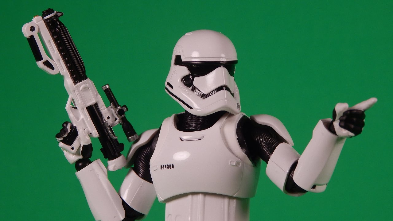 6278e7f519 Bandai S.H. Figuarts First Order Stormtrooper Review Star Wars The Force  Awakens - YouTube