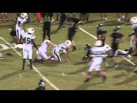 Melbourne vs Viera High School Football Highlights 2013