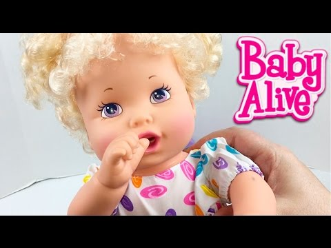Vintage Talking Baby Alive Potty Doll Unboxing! 1992