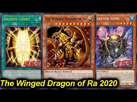 The Winged Dragon Of Ra Reactor Slime OTK Deck 2020 - New Support!!