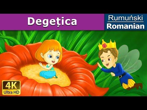 Degețica| Povesti pentru copii | Basme in limba romana | Romanian Fairy Tales