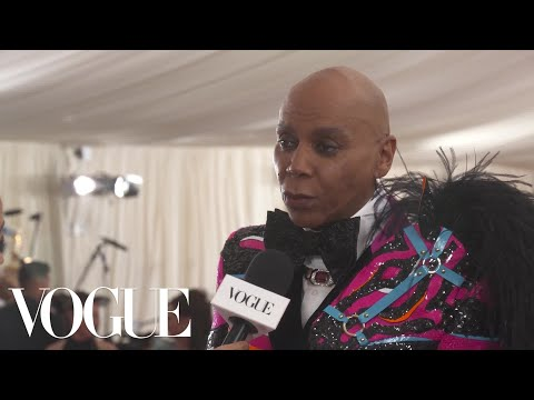 RuPaul on His Met Gala DJ Set | Met Gala 2019 With Liza Koshy | Vogue