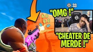 FORTNITE FORTNITE'S BIG CHEATER TUE KINSTAAR -CHOC😲