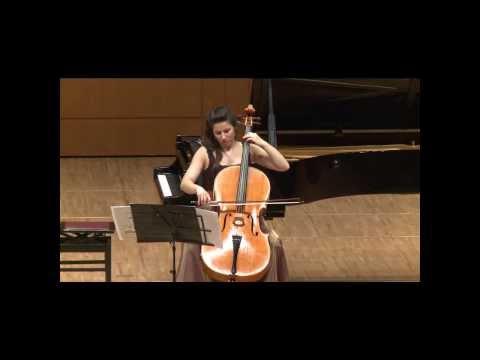 Mayuzumi -  Bunraku (1960) - Andrea Casarrubios, cello