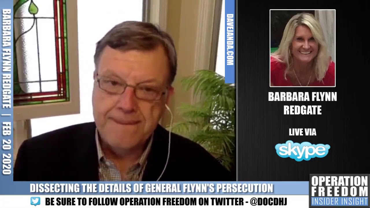 Part 2: Barbara Flynn Redgate: Dissecting The Details of General Flynn's Persecution