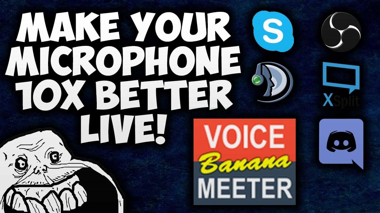 How to Improve Your Microphones Quality LIVE! (OBS, Skype, Discord,  Teamspeak - 2016 HD)