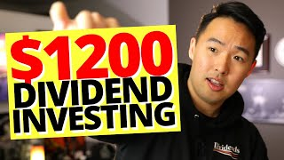 Dividend INVESTING Your $1200 Stimulus Check 2020 (4 Smart Ways to Spend Your Stimulus Check)