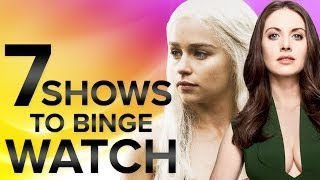 Video 7 Shows You Should Binge Watch - What to Watch download MP3, 3GP, MP4, WEBM, AVI, FLV Desember 2017
